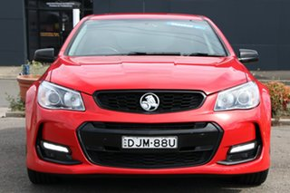 2016 Holden Commodore VF II MY16 SV6 Sportwagon Black Red 6 Speed Sports Automatic Wagon