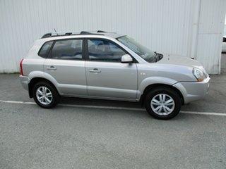 2009 Hyundai Tucson CITY Silver 5 Speed Manual Wagon.