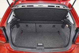 2015 Volkswagen Polo 6R MY15 66TSI Trendline Tornado Red 5 Speed Manual Hatchback