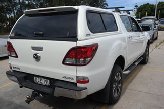 2016 Mazda BT-50 UR0YF1 GT White 6 Speed Sports Automatic Utility