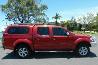 2012 Nissan Navara D40 S5 MY12 ST-X Red 7 Speed Sports Automatic Utility.