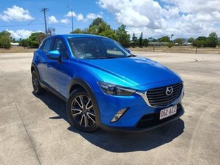 2015 Mazda CX-3 DK2W7A sTouring SKYACTIV-Drive Blue 6 Speed Sports Automatic Wagon.
