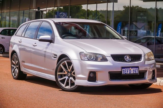 Used Holden Commodore VE II MY12 SS V Sportwagon Gosnells, 2012 Holden Commodore VE II MY12 SS V Sportwagon Silver 6 Speed Sports Automatic Wagon