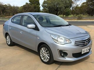 2014 Mitsubishi Mirage LA MY15 ES Silver 1 Speed Constant Variable Sedan.