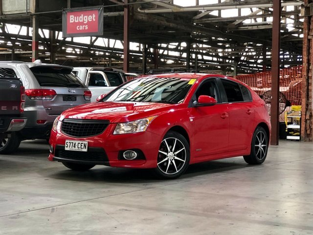 Used Holden Cruze JH Series II MY13 SRi Mile End South, 2013 Holden Cruze JH Series II MY13 SRi Red 6 Speed Sports Automatic Hatchback
