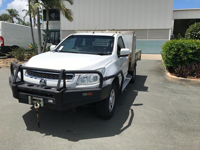 Used Holden Colorado RG MY14 LX Acacia Ridge, 2014 Holden Colorado RG MY14 LX White 6 speed Manual Cab Chassis
