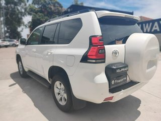Toyota Landcruiser Prado GXL White Sports Automatic Wagon