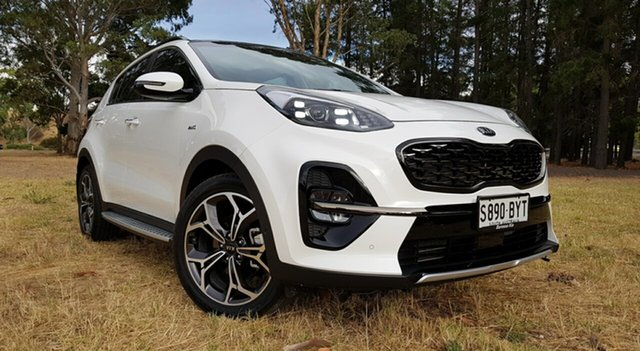 Used Kia Sportage QL MY19 GT-Line AWD Nuriootpa, 2019 Kia Sportage QL MY19 GT-Line AWD White 8 Speed Sports Automatic Wagon