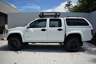 2008 Holden Colorado RC LX Crew Cab White 5 Speed Manual Utility