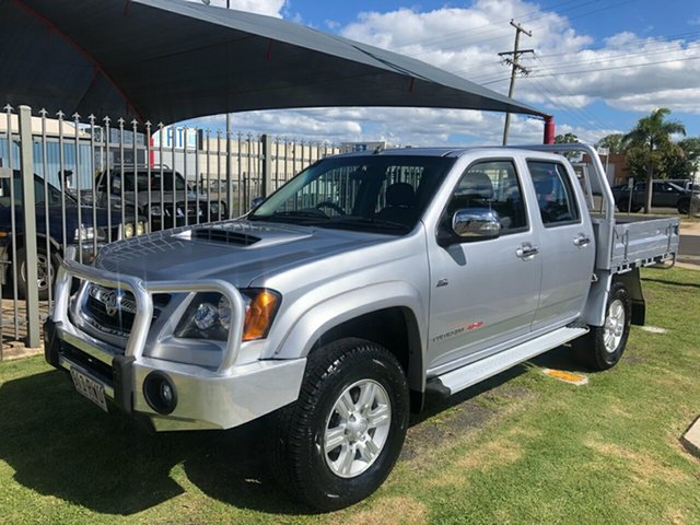 Used Holden Colorado RC MY11 LX-R (4x4) Toowoomba, 2011 Holden Colorado RC MY11 LX-R (4x4) Silver 5 Speed Manual Crew Cab Pickup