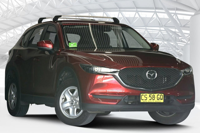 Used Mazda CX-5 MY17.5 (KF Series 2) Maxx (4x2) Moorebank, 2018 Mazda CX-5 MY17.5 (KF Series 2) Maxx (4x2) Red 6 Speed Automatic Wagon