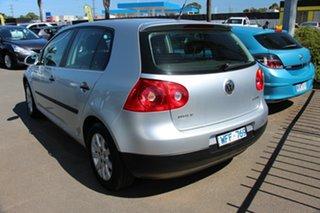 2007 Volkswagen Golf V MY08 Comfortline Silver 6 Speed Manual Hatchback