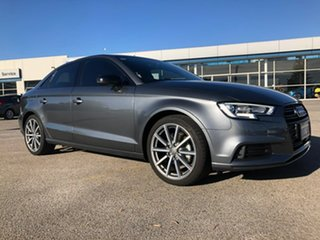 2018 Audi A3 8V MY18 S Tronic Grey 7 Speed Sports Automatic Dual Clutch Sedan.