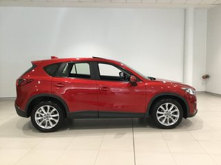2014 Mazda CX-5 KE1021 MY14 Grand Touring SKYACTIV-Drive AWD Red 6 Speed Sports Automatic Wagon.