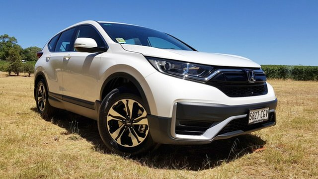 Demo Honda CR-V RW MY21 Vi FWD Tanunda, 2020 Honda CR-V RW MY21 Vi FWD Platinum White 1 Speed Automatic Wagon