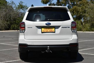 2017 Subaru Forester S4 MY18 2.5i-L CVT AWD Special Edition White 6 Speed Constant Variable Wagon
