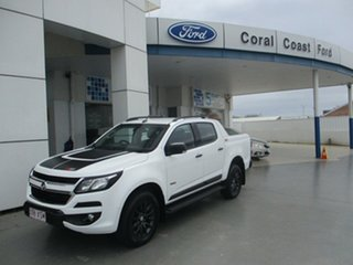 2017 Holden Colorado RG MY18 Z71 (4x4) White 6 Speed Automatic Crew Cab Pickup.