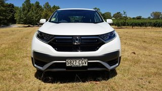 2020 Honda CR-V RW MY21 Vi FWD Platinum White 1 Speed Automatic Wagon.