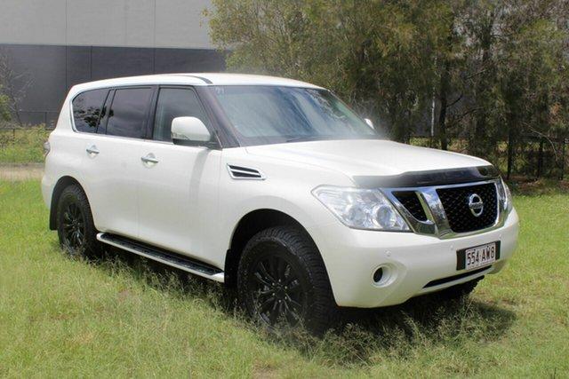 Used Nissan Patrol Y62 ST-L Ormeau, 2013 Nissan Patrol Y62 ST-L White 7 Speed Sports Automatic Wagon
