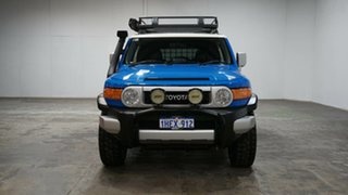 2012 Toyota FJ Cruiser GSJ15R Blue 5 Speed Automatic Wagon