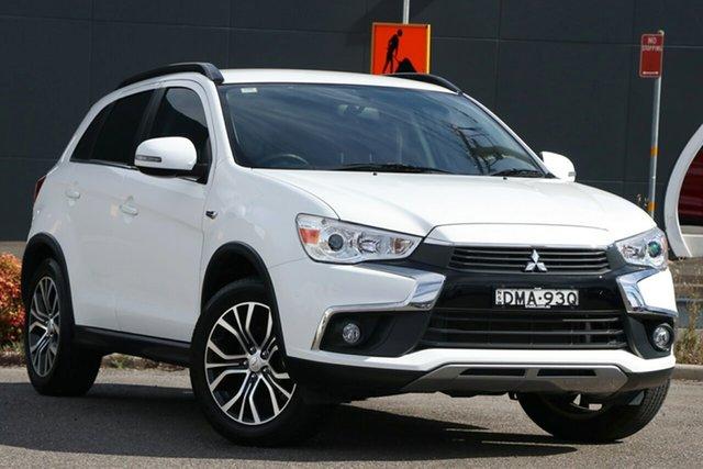 Used Mitsubishi ASX XC MY17 LS 2WD Parramatta, 2016 Mitsubishi ASX XC MY17 LS 2WD White 6 Speed Constant Variable Wagon