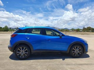 2015 Mazda CX-3 DK2W7A sTouring SKYACTIV-Drive Blue 6 Speed Sports Automatic Wagon