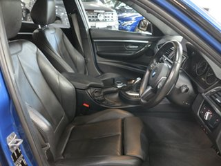 2017 BMW 3 Series F30 LCI 330i M Sport Estoril Blue 8 Speed Sports Automatic Sedan