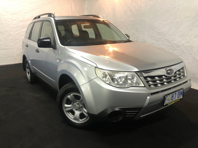 Used Subaru Forester S3 MY11 X AWD Derwent Park, 2011 Subaru Forester S3 MY11 X AWD Silver 4 Speed Sports Automatic Wagon