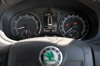 2013 Skoda Fabia 5JF MY13 RS DSG 132TSI Silver 7 Speed Sports Automatic Dual Clutch Hatchback