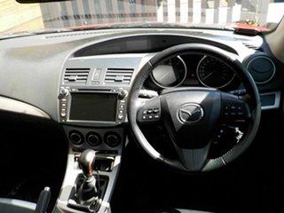 2010 Mazda 3 BL10C1 MY10 MZR-CD Red 6 Speed Manual Sedan