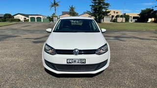 2012 Volkswagen Polo 6R MY13 77TSI DSG Comfortline White 7 Speed Sports Automatic Dual Clutch.