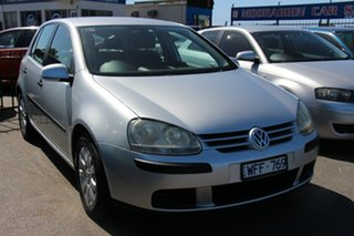 2007 Volkswagen Golf V MY08 Comfortline Silver 6 Speed Manual Hatchback.