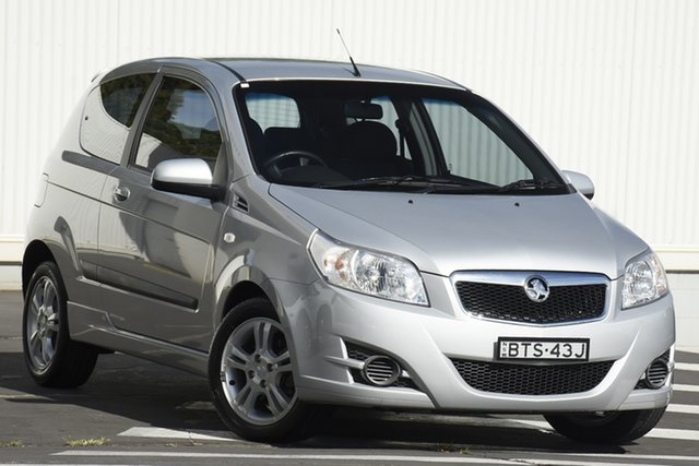 Used Holden Barina TK MY10 Wollongong, 2010 Holden Barina TK MY10 Silver 5 Speed Manual Hatchback