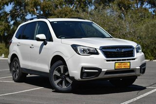 2017 Subaru Forester S4 MY18 2.5i-L CVT AWD Special Edition White 6 Speed Constant Variable Wagon.
