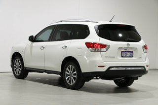 2014 Nissan Pathfinder R52 ST (4x2) White Continuous Variable Wagon
