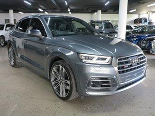 2018 Audi SQ5 FY MY19 Tiptronic Quattro Grey 8 Speed Sports Automatic Wagon.