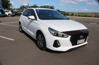 2018 Hyundai i30 PD MY18 Active Ceramic White 6 Speed Manual Hatchback.