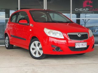 2009 Holden Barina TK MY09 Red 5 Speed Manual Hatchback.