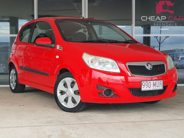 Used Holden Barina TK MY09 Brendale, 2009 Holden Barina TK MY09 Red 5 Speed Manual Hatchback