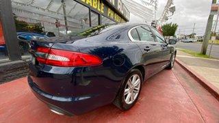 2012 Jaguar XF X250 MY12 Luxury Blue 8 Speed Sports Automatic Sedan.