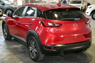 2015 Mazda CX-3 DK2W7A sTouring SKYACTIV-Drive Red 6 Speed Sports Automatic Wagon
