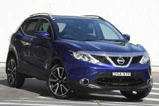 2017 Nissan Qashqai J11 TI Blue 1 Speed Constant Variable Wagon.
