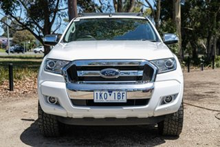 2017 Ford Ranger PX MkII XLT Double Cab 4x2 Hi-Rider White 6 Speed Sports Automatic Utility