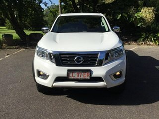 2017 Nissan Navara D23 S2 RX White 6 Speed Manual Utility.