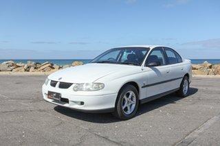 2000 Holden Commodore VX Executive White 4 Speed Automatic Sedan.