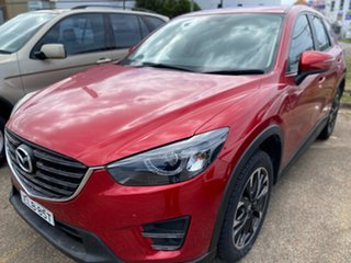 2015 Mazda CX-5 KE1022 Grand Touring SKYACTIV-Drive AWD Red 6 Speed Sports Automatic Wagon.