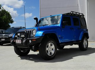 2014 Jeep Wrangler JK MY2015 Unlimited X Blue 5 Speed Automatic Hardtop.