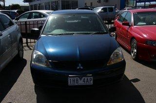 2007 Mitsubishi Lancer CH MY07 ES Blue 5 Speed Manual Sedan.