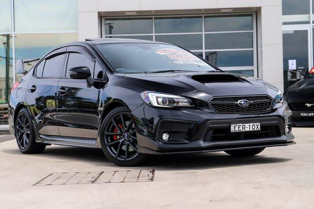 Used Subaru WRX V1 MY18 Premium Lineartronic AWD Liverpool, 2017 Subaru WRX V1 MY18 Premium Lineartronic AWD Crystal Black 8 Speed Constant Variable Sedan
