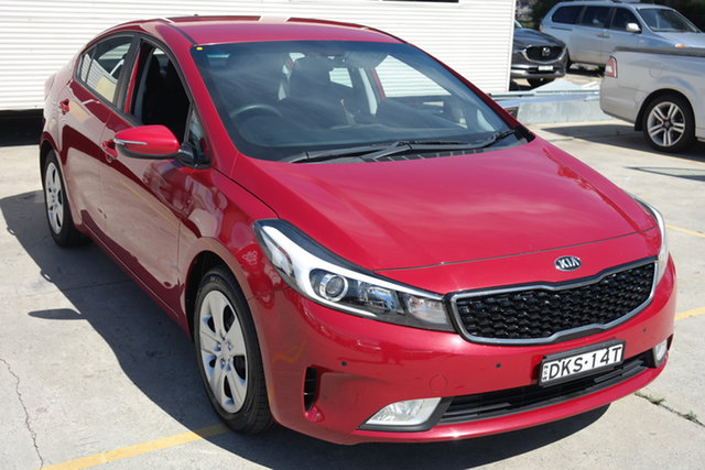 Used Kia Cerato YD MY17 S Maryville, 2016 Kia Cerato YD MY17 S Red 6 Speed Sports Automatic Sedan